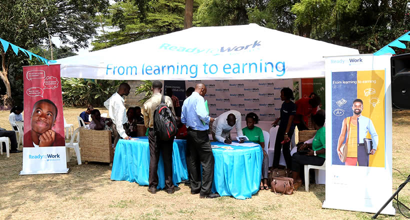 Ready to Work program in partnership with Barclays Africa will equip youths for the tomorrow.