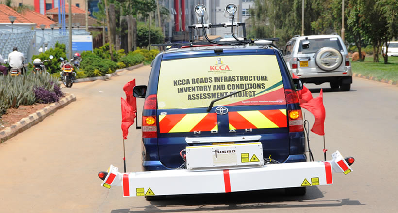 KCCA: THE ROAD CONDITION DRIVEN SURVEY EXERCISE
